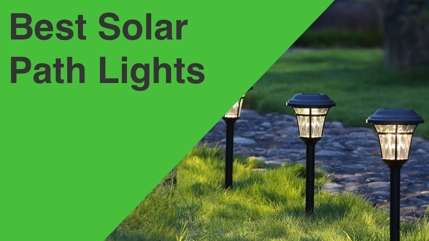 Bronze Enchanted Spaces Solar Path Light w//Extra-Bright LED Set of 6