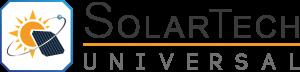 solartechuniversal Logo Black